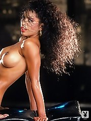 """In 1990, Idaho beauty Reneé Tenison was our Queen of Hearts. """"The very first time I say Playboy,"""" said Reneé in 1990, &q"