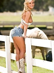 The farm-girl fantasy holds a special place in Americana. She is wholesome and natural yet wise beyond her years. She is decent, churchgoing and sexy